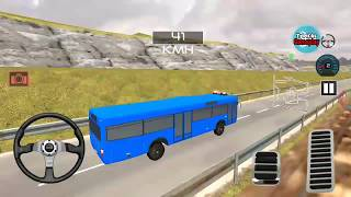 Indian Police Bus Simulator, Bus Transporter New Blue Bus Unlocked, Android GamePlay (HD)