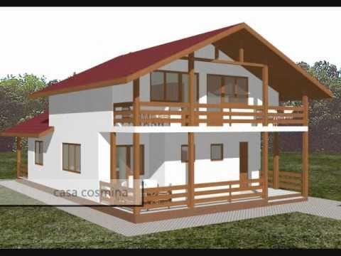 case mici cu amprenta la sol incepand cu 36 mp. Pentru a vizualiza