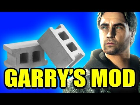 Gmod THROWABLE BRICK WEAPON Mod! (Garry's Mod)