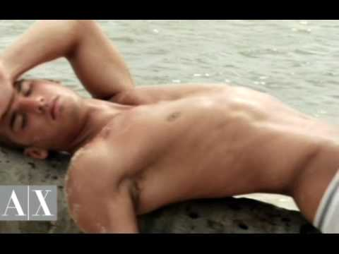 Kerry Degman - Behind the scenes Armani Exchange Underwear Video