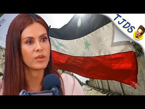 Carla Ortiz Shocking Video From Syria Contradicts Corp. News Coverage