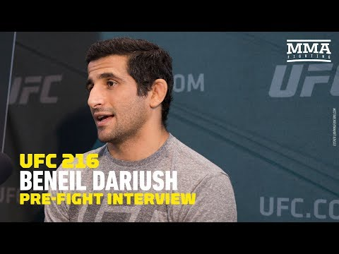 Beneil Dariush Describes What it Was Like Being on Las Vegas Strip During Shooting - MMA Fighting