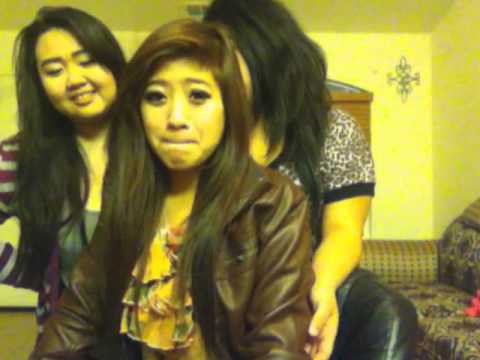 Hmong girls fighting for internet & Shout out