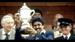 Cricket 1983 World Cup Finals Historic Winning Moments