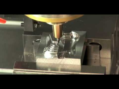 Sodick High Speed Milling - High Speed Machining Center - Video Demo