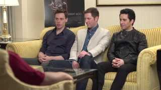 Cinemark interviews the cast of Jersey Boys