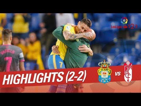 Resumen de UD Las Palmas vs Granada CF (2-2)