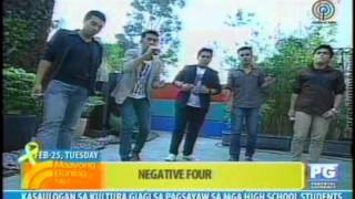 Negative 4 Live @ Maayong Buntag Mindanao