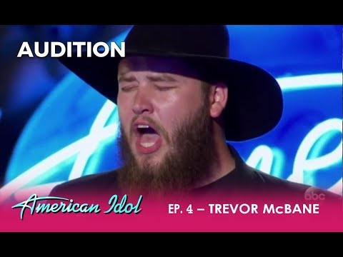 Trevor McBane: Goat Farmer Shows Off His Raw Voice | American Idol 2018