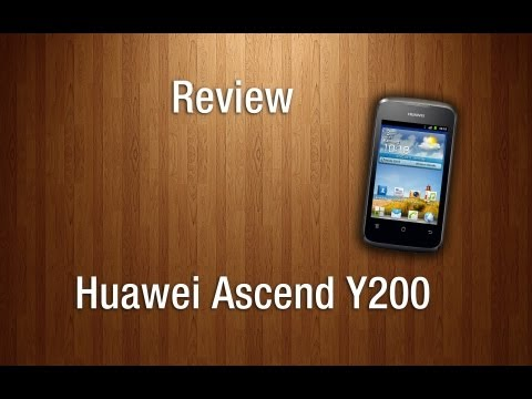 Review - Huawei Ascend Y200