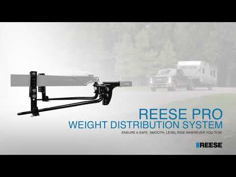REESE Pro Weight Distribution System   Features and Benefits