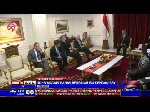 SBY Terima Kunjungan Senator AS John McCain