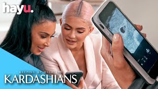 North West Can't Keep Baby #4 A Secret! | Season 16 | Keeping Up With The Kardashians