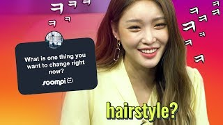 Chungha Answers Instagram's Most Asked Questions | Soompi
