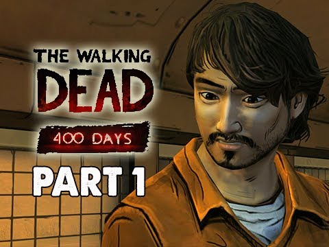 The Walking Dead 400 Days Gameplay Walkthrough - Part 1 Vince Storyline