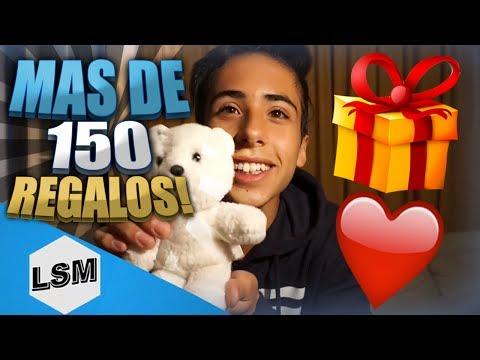 ABRIENDO MAS DE 150 REGALOS DE FANS ! - LUCAS SAN MARTIN