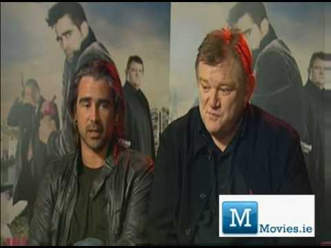 Colin Farrell and Brendan Gleeson - Irish Interview for Golden Globes winning movie In Bruges Video