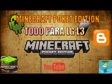 MINECRAFT POKET EDITION PARA LG OPTIMUS L3
