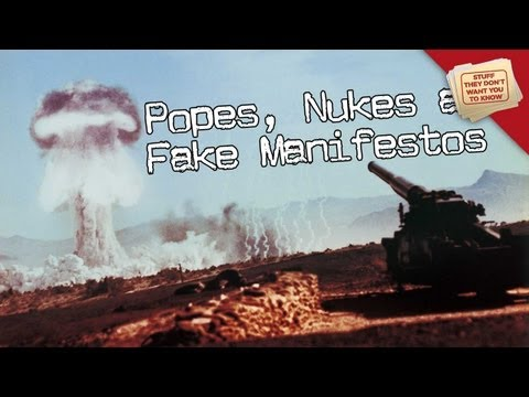 Pope Resignation, Nuclear Tests and Fake Manifestos:  Digging Deeper - STDWYTK