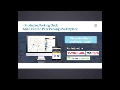 CrowdFunding Asia 2015 – Pitch Perfect – Parking Duck