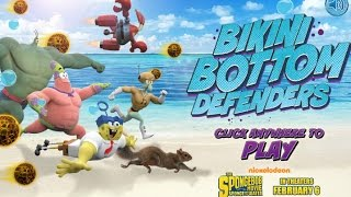 Games: Spongebob SquarePants - Bikini Bottom Defenders