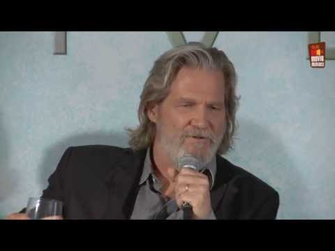 The Giver   Press Conference Beverly Hills (2014) Jeff Bridges Lois Lowry
