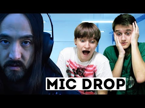 РЕАКЦИЯ С БРАТОМ на BTS - MIC Drop (Steve Aoki Remix)   ОТСЫЛКА к THE LAST OF US!!!