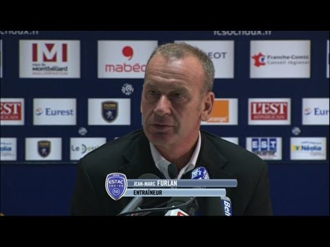 image vido  Confrence de presse FC Sochaux-Montbliard - ESTAC Troyes (3-1)