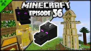 Tower Decor & Minecraft Memento Area! | Python's World (Minecraft Survival Let's Play) | Episode 56