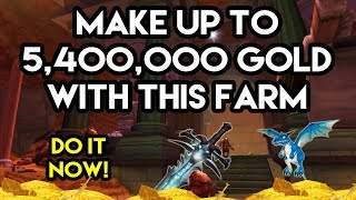 World Of Warcraft Gold Farm Potentially Make Up To 5,400,000 Gold