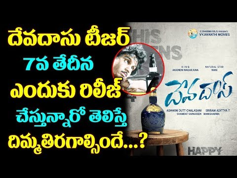 Devdas Movie Teaser Release Date Fix | Nagarjuna | Nani | Tollywood | Top Telugu Media