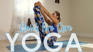Quick Fire Core Yoga with Kino