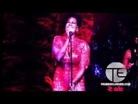 Fantasia Goes Off Performing