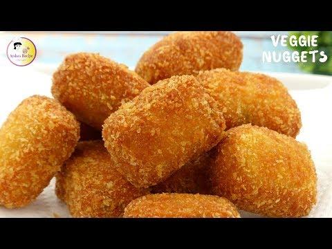 শীতের সবজি দিয়ে মজার নাস্তা 'ভেজিটেবল নাগেটস' | Crispy Vegetable Nuggets/ KFC Veggie Strips Recipe