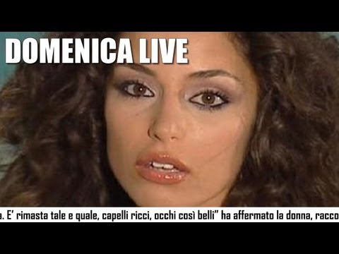 Raffaella Fico in lacrime a Domenica Live nel salotto di Barbara d'Urso
