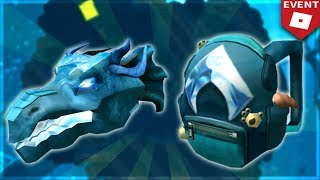 (EVENT) AQUAMAN BACKPACK AND WATER DRAGON HEAD (Roblox)