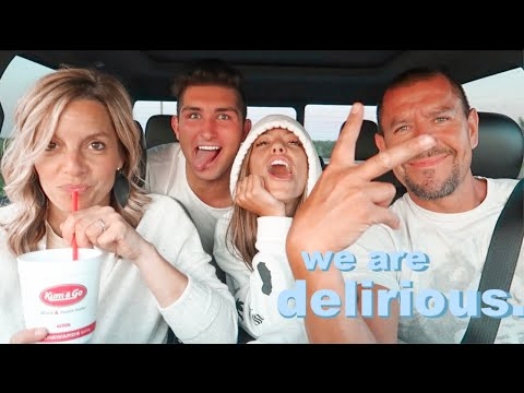 20 hour road trip with crackheads