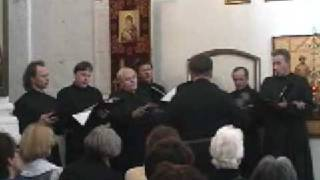 Russian Men 39 S Choir In Moscow