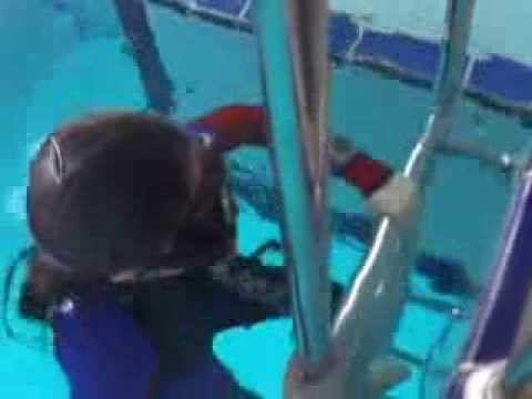 Limitation test of underwater breath holding -Emily