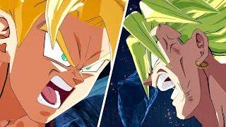DRAGON BALL FighterZ - Goku kills Broly Dramatic Finish (English/Japanese) @ 1440p (60???) HD ?