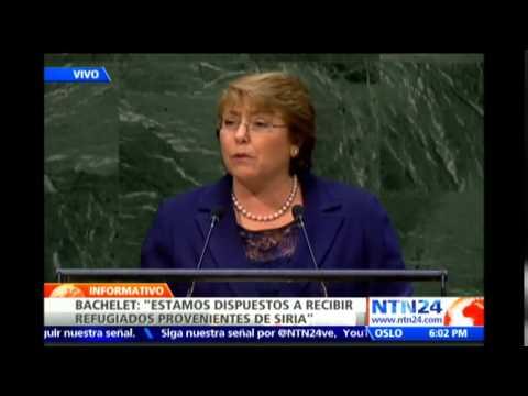 Bachelet asegura en ONU que Ébola, crisis en Ucrania y el EI son temas que afectan a todo el mundo