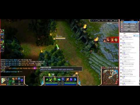 2014. 4. 10 북미에서 벤한다는 정글 마스터이(1편) -해물파전 게임영상(Master Yi)