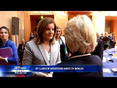 EU Labour Ministers Meet In Berlin