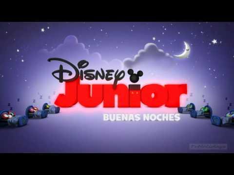 Disney Junior Spain - Night Loop ( Good Night / Buenas Noches ) 2012