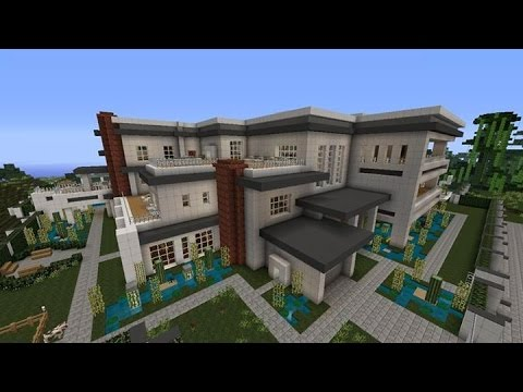 Minecraft Modern Mansion Tour With Download Xbox 360