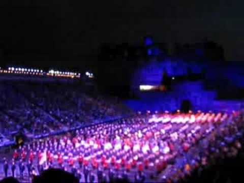 Edinburgh Military Tattoo 2008 Finale and March Out, pt 2/2