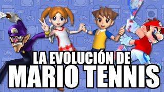 La Evolución de Mario Tennis - Leyendas & Videojuegos