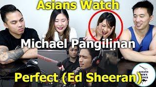 "Michael Pangilinan performs ""Perfect"" (Ed Sheeran) LIVE on Wish 107.5 Bus | Reaction - Asians"