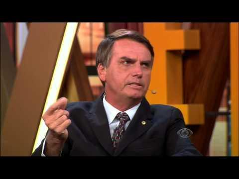 Rafinha Bastos entrevista Jair Bolsonaro - Agora é Tarde - 08/04/2014