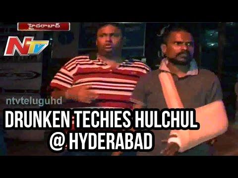 Drunken Software Employees Midnight Ruckus In Jubilee Hills - Ntv video